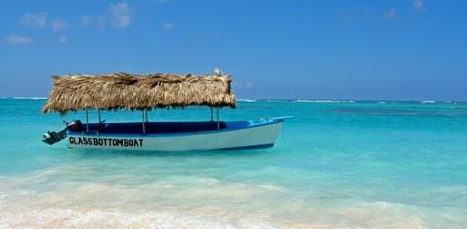 Punta Cana glass bottom boat
